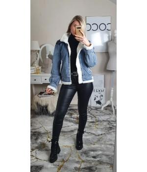 Bombardier jeans fourré white