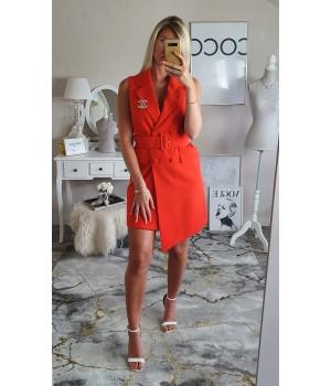 Robe blazer Premium orange