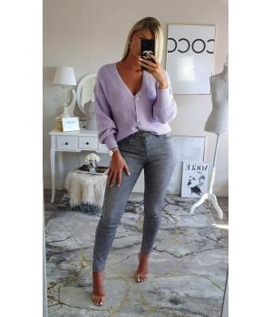 Jeans gris skinny