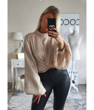 Blouse pretty nude