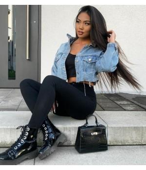 Veste jeans courte