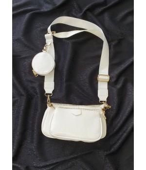 Sac trendy white