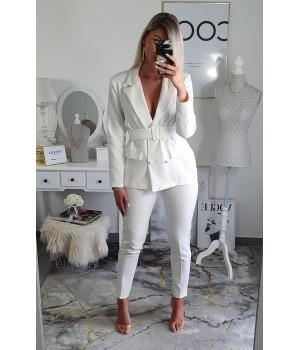 Ensemble blazer white