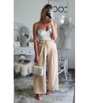 Top bustier white