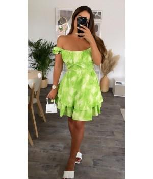 Robe dégradé green