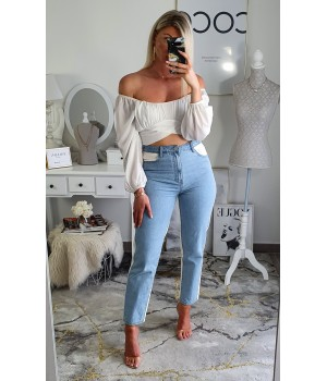 Jeans mom duo