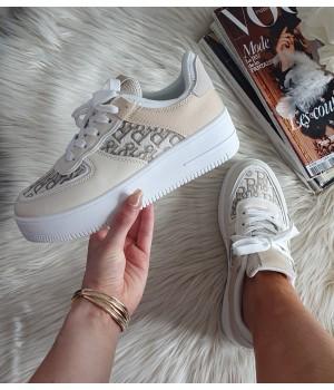 Baskets beige style