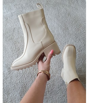 Boots inspi Chloé beige