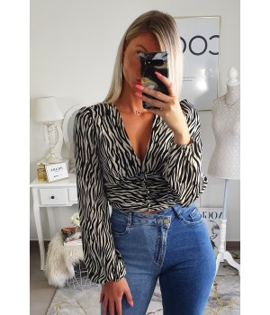 Zebra arched top