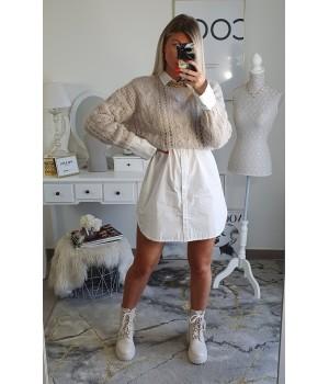 Soft beige sweater