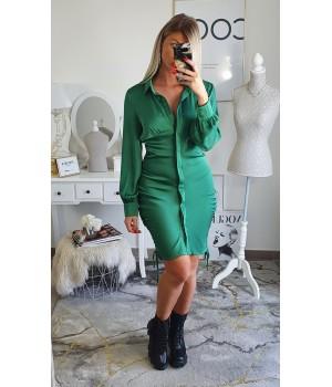 Green beauty dress