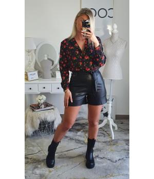 Shorts imitation black